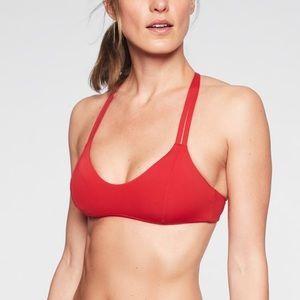 ATHLETA South Swell bikini top | sz xs | red | NWT